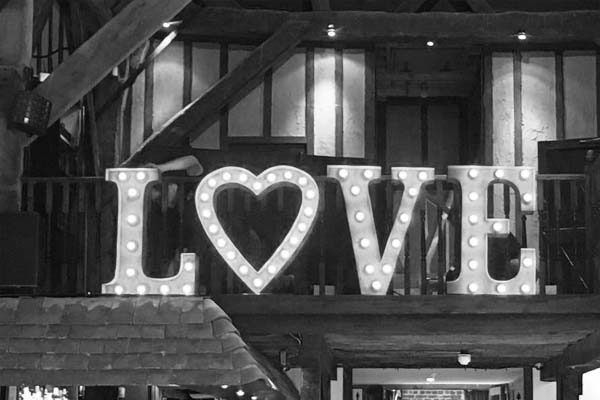 white light up letters - love 2jpg